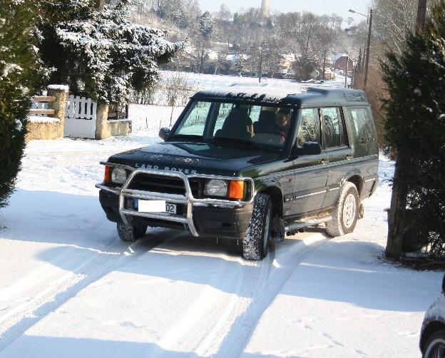 Land Rover Discovery 2500 TD5 138V Reprogrammation OBD2